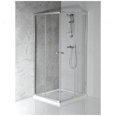 Kvadratinė dušo kabina Aqualine Agga