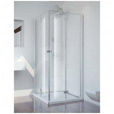 Kvadratinė dušo kabina Sanotechnik Smartflex