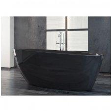 Laisvai pastatoma vonia Besco GOYA, juoda