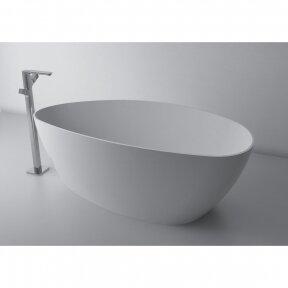 Lieto akmens laisvai pastatoma vonia 1700x700x620mm