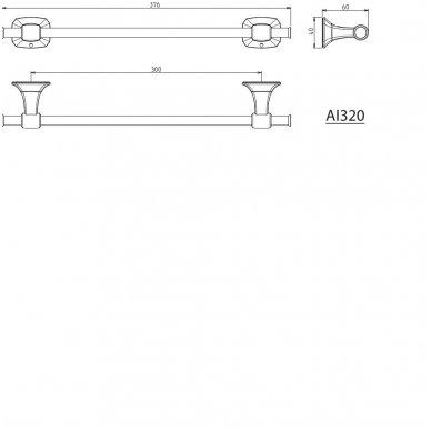 Laikiklis 30cm AIDA AI320 2