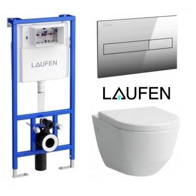 Laufen WC rėmo ir unitazo Pro Rimless komplektas