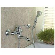 Maišytuvas voniai su dušo komplektu Omnires Art Deco
