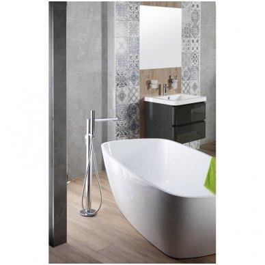 Maišytuvas voniai montuojamas į grindis Optima gamintojo OPBVANBAT003 3