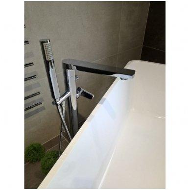 Maišytuvas voniai montuojamas į grindis Optima gamintojo OPBVANBAT003 2