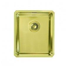 Nerūdijančio Plieno Virtuvinė Plautuvė ALVEUS Quadrix 20 Auksas