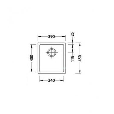 Nerūdijančio Plieno Virtuvinė Plautuvė ALVEUS Quadrix 20 Bronza 3