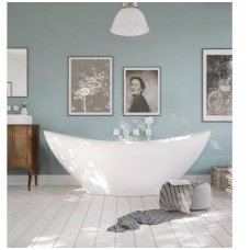 PAA Felice Silk balta matinė laisvai pastatoma vonia 1945x830