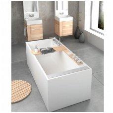 PAA Infinity balta matinė laisvai pastatoma vonia 1800x800