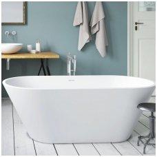 PAA Nudo balta matinė laisvai pastatoma vonia 1660x720