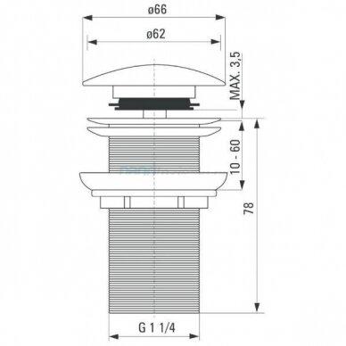 Pastatomas stiklinis praustuvas SKIN su aukštu juodu maišytuvu Tres Study Exclusive 9