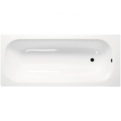 Plieninė vonia 120x70x38cm  V120x70