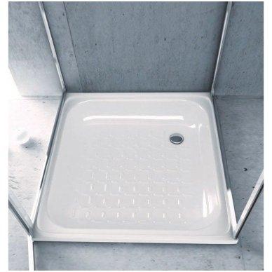 Plieninis dušo padėklas Aqualine PD 3