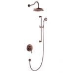 Potinkinė dušo sistema Omnires Armance vario spalvos