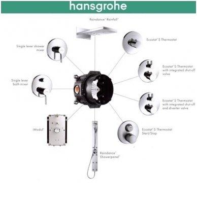Potinkinė dėžutė Hansgrohe Ibox 01800180 2