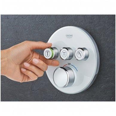 Potinkinė dušo sistema Grohe Smart Control su metaline 31 cm skersmens galva 3