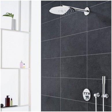 Potinkinė dušo sistema Grohe Smart Control su metaline 31 cm skersmens galva 2