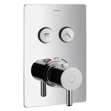 Potinkinė termostatinė dušo sistema Omnires SYSY40GCCR 4