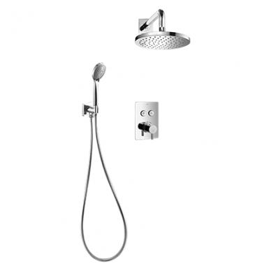 Potinkinė termostatinė dušo sistema Omnires SYSY40GCCR