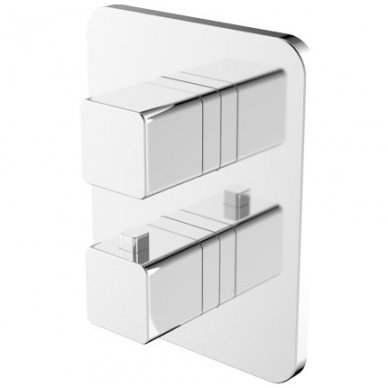 Potinkinis termostatinis vonios/dušo maišytuvas Omnires PARMA PM7436 CR
