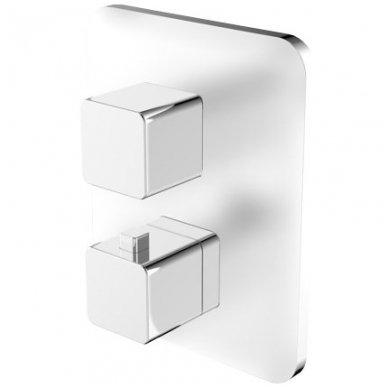 Potinkinis termostatinis vonios/dušo maišytuvas Omnires Parma PM7436 CRB