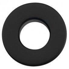 Praustuvo persipylimo skylės apdaila juodos spalvos