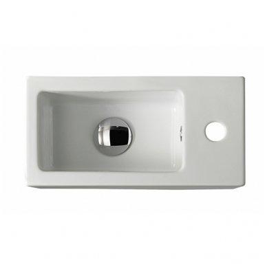 Praustuvas Galassia Plus Design 40x20cm keramikinis 3