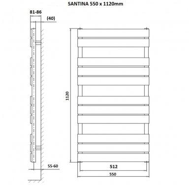 Rankšluosčių džiovintuvas Sapho Santina 7