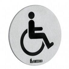 Smedbo ženklas Neįgalus