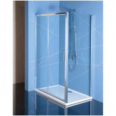 Stačiakampė dušo kabina Polysan Easy Line 2