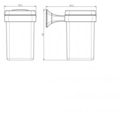 Stiklinė AIDA AI004 2