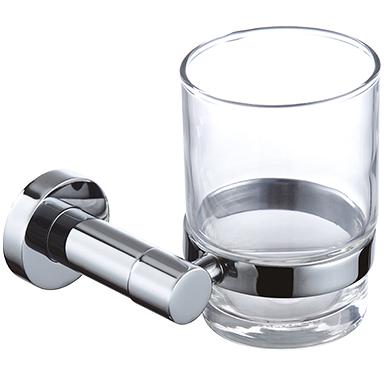 Stiklinė su laikikliu Omnires Modern Project MP60320 CR