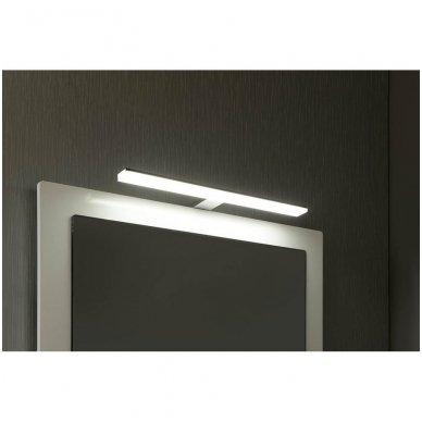 Šviestuvas FELINA LED, 10W, 458x15x112mm, chrome Tvirtinamas virš veidrodžio FE045 2