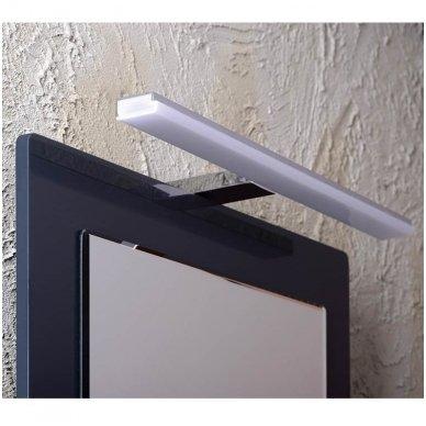 Šviestuvas FELINA LED, 10W, 458x15x112mm, chrome Tvirtinamas virš veidrodžio FE045