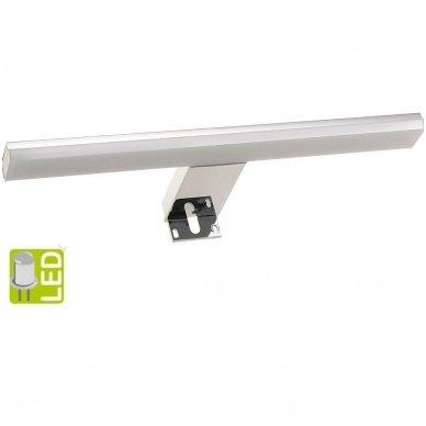Šviestuvas FELINA LED, 8W, 308x15x112mm, chrome Tvirtinamas virš veidrodžio  FE030