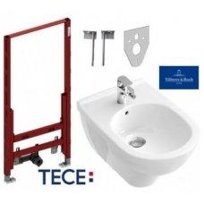 TECE ir Villeroy & Boch O.Novo Bidė komplektas