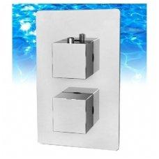Termostatinis maišytuvas voniai 2 taškų Omniress Fresh F7136