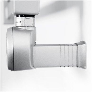 Terma Moa kaitinimo elementas su paslėptu laidu matinės sidabrinės spalvos 3