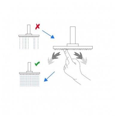 Termostatinė dušo/vonios sistema Siko Optima OPTIMASSTZV 3