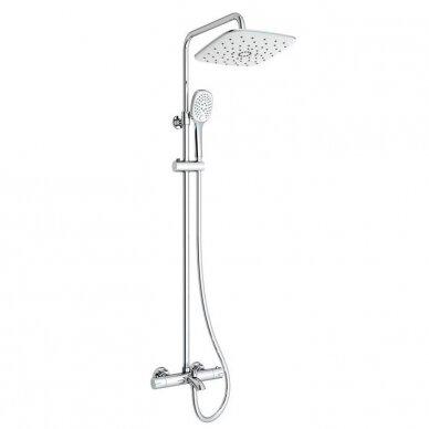 Termostatinė dušo/vonios sistema Siko Optima OPTIMASSTZV