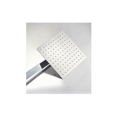 Potinkinė dušo sistema Cube Way su stacionaria 25 cm metaline dušo galva 3