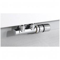 TWIN centrinis pajungimo komplektas su termostatiniu ventiliu