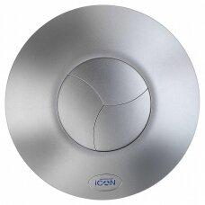 Ventiliatoriaus iCon 30 dangtelis sidabro spalvos