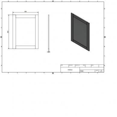Veidrodis Favolo FV060 6