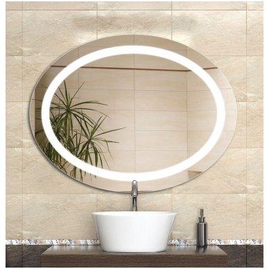 Veidrodis voniai Iluxit su LED apšvietimu