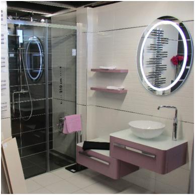 Veidrodis voniai Iluxit su LED apšvietimu 4
