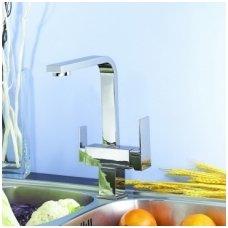 Virtuvinis maišytuvas Blue Water Taupo chromas