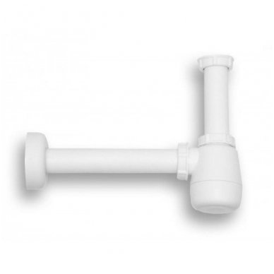 Viega bide sifonas, baltas, butelinis be ventilio, 32 x 32 mm 2