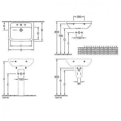 Villeroy&Boch Omnia Architectura 550 x 460 5