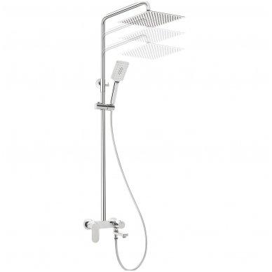 Virštinkinė vonios-dušo Sistema su snapu Deante Alpinia 3
